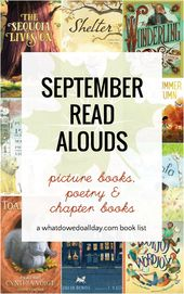 September Read Alouds that Will Power Up Your Fall
