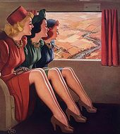 1940s Style – Liquid Stockings for Summertime | Glamour Daze