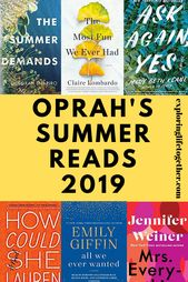 5 of Oprah's picks for Summer reading & other book club favs.