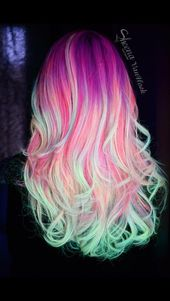 52 Ombre Rainbow Hair Colors To Try