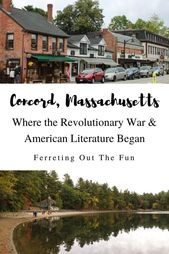 A Literary Tour of Concord, Massachusetts – Ferreting Out the Fun