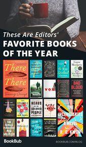 BookBub Editors' Favorite Books of the Year