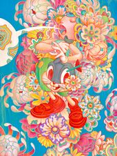 "Juxtapoz Magazine – The story behind James Jean's ""Bouquet"" as seen in ""Juxtapoz x Superflat"""