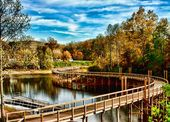Stroll Along This West Virginia Boardwalk For Picture Perfect Views Of Fall Foliage