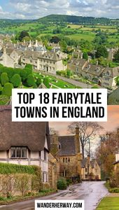 The Most Charming Fairytale Towns in England