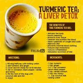 Turmeric Tea Liver Detox Recipe – Video | The WHOot