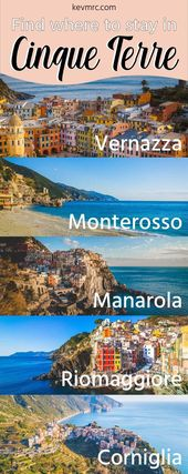 Where to Stay in Cinque Terre? The BEST Place to Stay in Cinque Terre for YOU!