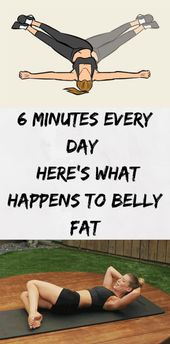 6 Minutes Every Day – Here's What Happens To Belly Fat | BoboBrid