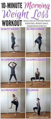 10 Minute Morning Weight Loss Workout