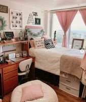 34 Insanely Cute College Dorm Rooms We're Obsessing Over