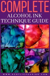 Some of Our Favorite Alcohol Ink Techniques