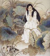 Иллюстраторские техники: китайская живопись gongbi двумя кистями