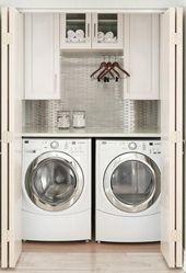 15 Laundry Closet Organization Ideas