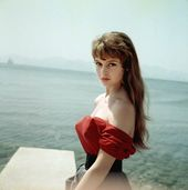 Beautiful Coloration Pics of 19 Calendar year-Aged Brigitte Bardot at the Cannes Movie Festival