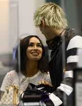 EXCLUSIVE: Megan Fox and Machine Gun Kelly jet out of LAX