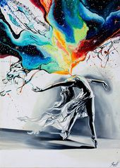 I Portray The Feeling Of Ballet Dance In My Paintings To Show How Important Passion Is