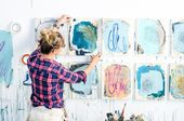 Modern Abstract Paintings by Heather Day