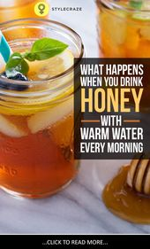 What Are The Benefits Of Drinking Honey With Warm Water?
