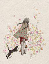 Сказка про кошку и её девочку