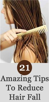 How To Stop Hair Fall – 20 Tips, Natural Methods & Treatments