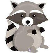 36″ Woodland Animal Raccoon Balloon