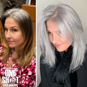 This hairdresser is helping people to embrace their grays – here are his 12 best transformations