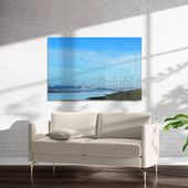 Beach Hair Art on Acrylic By Robin Delean – 24in x 36in