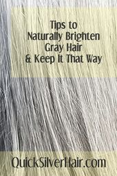 Do's and Don'ts for Brightening Your Gray Hair