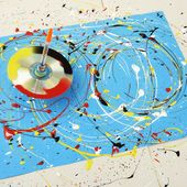 Family how-to: make a paint-splattering spinning top | Blog | Royal Academy of Arts