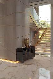 Luxury modern dream house living room interior video for a dream house