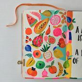 Art Journals – Inspired By: Upcoming Journaling Class at Gather