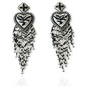 CrystalDust Luxury Special Edition Zebra Hearts
