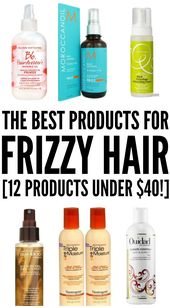 How to Tame Frizzy Hair: 12 Hair Products That Work (Under $40)