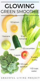 Why you should be drinking Kimberly Snyder Glowing Green Smoothie Recipe
