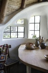 A sustainable house made of clay
