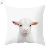 Animal Zebra Giraffe Rabbit Pillow Case Cushion Cover Sofa Bed Car Office Decor – 2