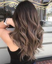 Ash Brown Hair : le balayage pour brunes ultra-tendance qui nous fait de l'oeil cet hiver…