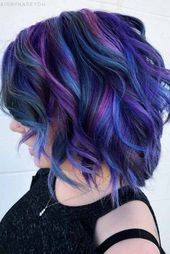 24 Blue And Purple Hair Looks That Will Amaze You