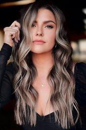 Dirty Ash Blonde Balayage Hair